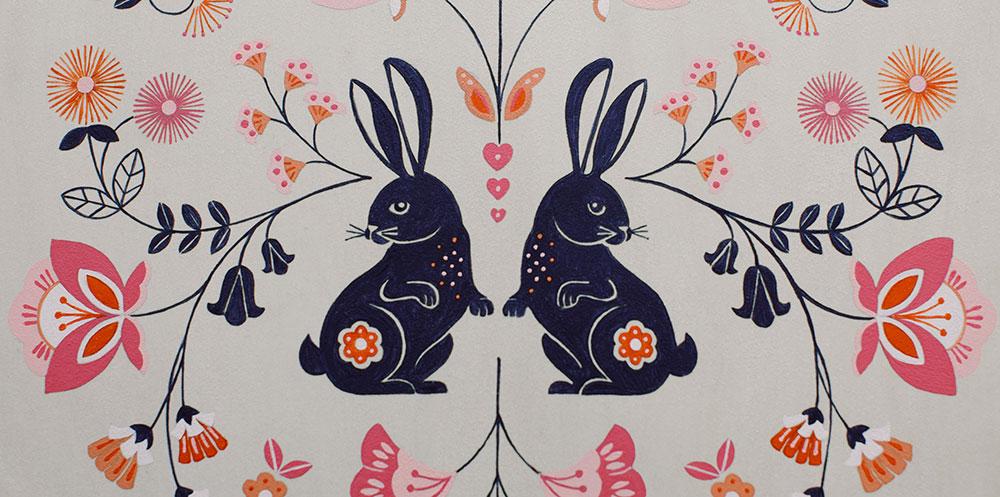 Bunnies & Blooms